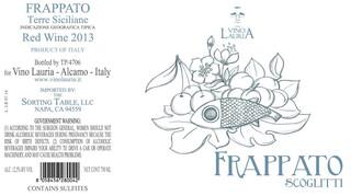 Vino Lauria, Terre Siciliane Frappato - organic