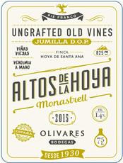 Olivares Altos de la Hoya Monastrell - organic