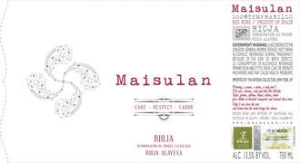 Maisulan Rioja Alavesa - biodynamic