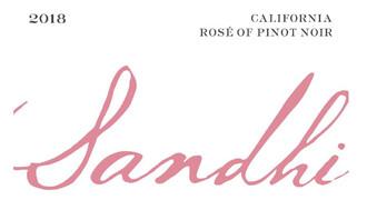 Sandhi Rose of Pinot Noir Sta. Rita Hills - organic / biodynamic