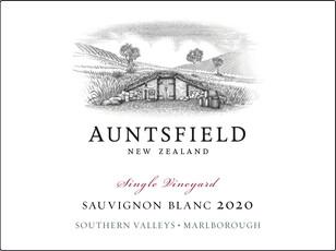 Auntsfield Sauvignon Blanc - sustainable