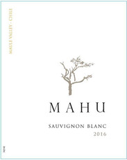Mahu Maule Valley Sauvignon Blanc - sustainable