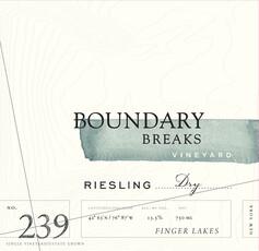 Boundary Breaks Dry Riesling No 239