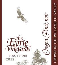 Eyrie Vineyards, Pinot Noir Willamette Valley - organic