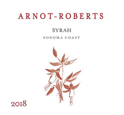 Arnot - Roberts Syrah Sonoma Coast - organic