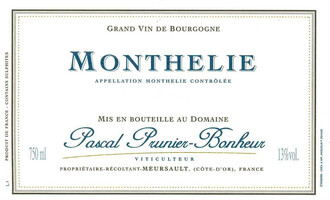 2017 Domaine Prunier Monthelie Rouge - organic