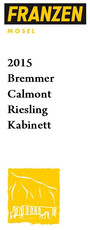 Weingut Reinhold Franzen, Riesling Bremmer Calmont Kabinett - organic