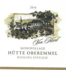 Von Hovel Hutte Riesling Spatlese - organic