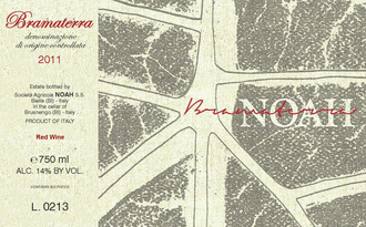 NOAH Bramaterra Alto Piemonte - organic