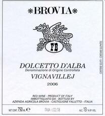 Brovia Dolcetto D'Alba - organic