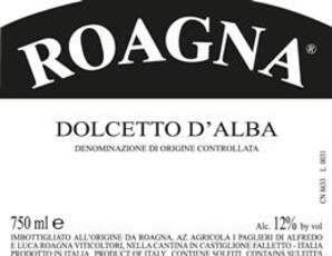 Roagna, Dolcetto d'Alba - organic