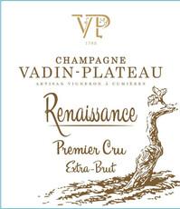 Vadin Plateau Champagne Cuvée Renaissance 1er Cru-organic