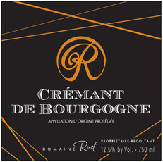 NV Ruet - Cremant de Bourgogne Brut - organic