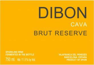 NV Dibon Cava Brut Reserve - organic