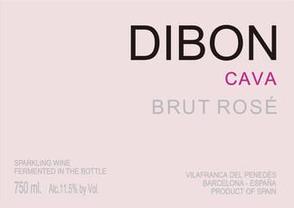 NV Dibon Cava Brut Rose - organic