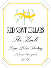 Red Newt Riesling Lahoma The Knoll