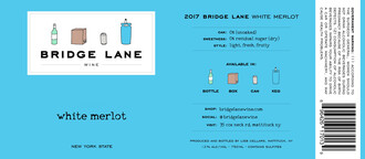 Bridge Lane White Merlot 750ml