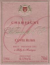 Vilmart & Cie Cuvee Rubis Rose Champagne