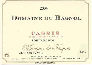 Domain Du Bagnol Cassis Rose-organic/biodynamic