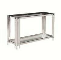 Silver Glass Console