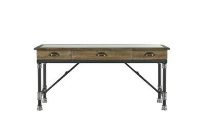 Wood Glass Coffee Table