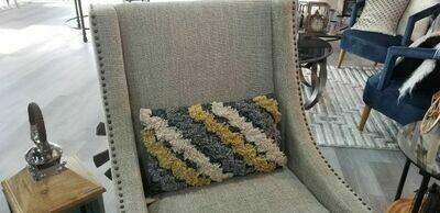 Cotton Fringe Pillow