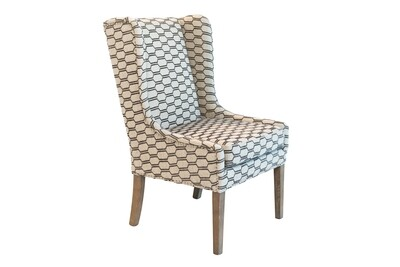 Geometric Arm Chair