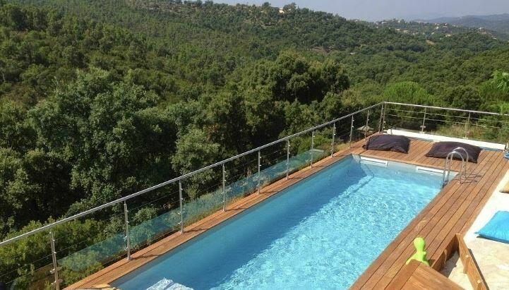 piscine couloir de nage ubbink linéa 1550cm x 350cm x 155cm