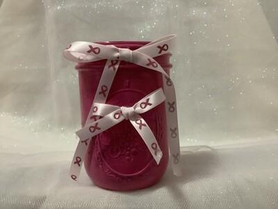 Jar pink breast cancer