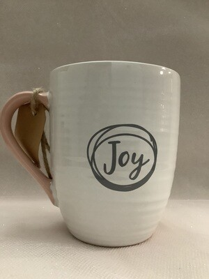 Ceramic Scripture Mug - Cup of Joy