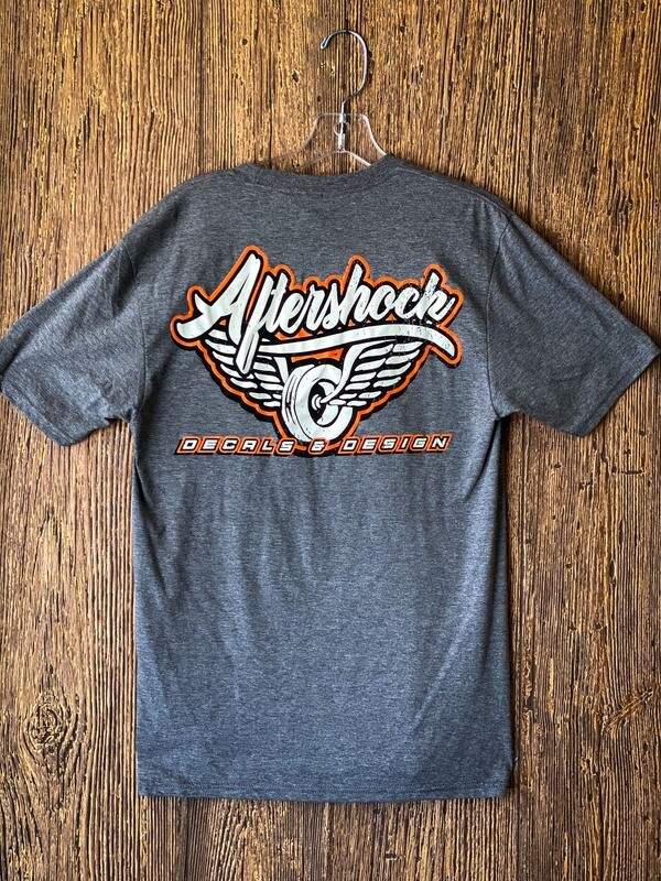Aftershock logo T- Shirt  (Gray)