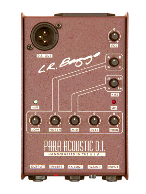 L.R. Baggs Para Acoustic DI w/ 5 band EQ - Direct Box