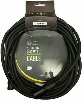 Leem Pro Audio - Microphone Cable - Studio Live Sessions 20'