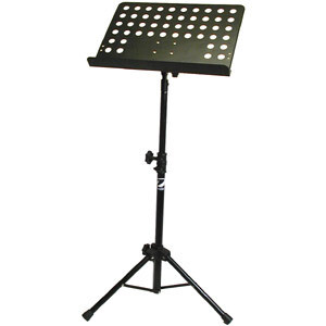 Orchestra Music Stand W/Holes