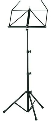 Profile 3 Section Music Stand Black