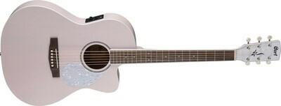 Cort Jade Classic Acoustic Guitar - Pastel Pink - JADE-CLASS-PPOP