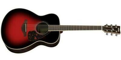 Yamaha Concert-Style Acoustic Guitar - FS830 DSR - Dusk Sun Red