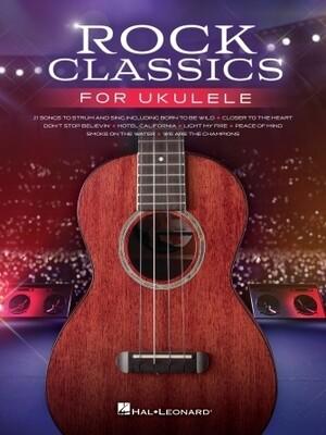 Rock Classics for Ukulele - HL 00328172