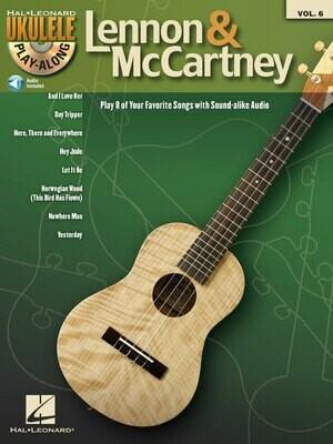 Lennon & McCartney Ukulele Play-Along Volume 6 - HL 00701723