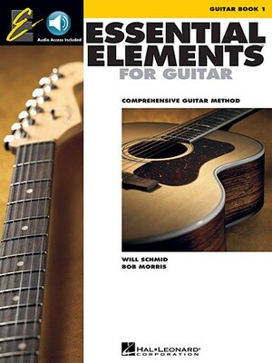Essential Elements for Guitar - Book 1 - HL 00862639