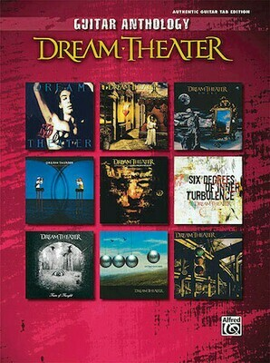 Dream Theater Guitar Anthology - HAL 00702319