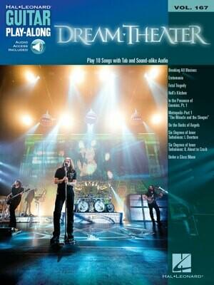 Dream Theater Guitar Play-Along Volume 167 - HL 00111938