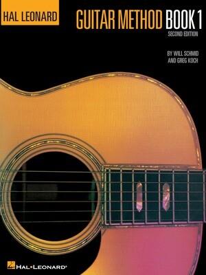 Hal Leonard Guitar Method - Book 1 - HL 00699010