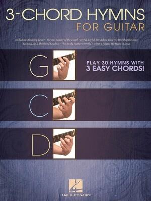 3 Chord Hymns for Guitar - HL 00703084
