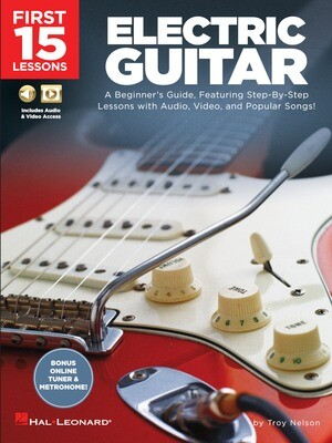 First 15 Lessons - Electric Guitar - HL 00244589