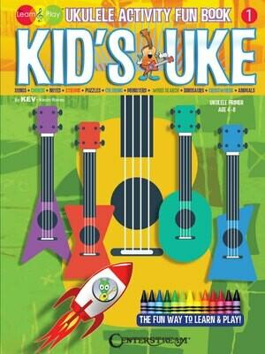 Kids Ukulele Activity Fun Book  - HL 00173015