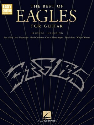 The Best of the Eagles for Guitar - Updated Edition - HL 00278630
