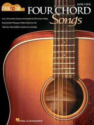 Four Chord Songs - Guitar - HL 00249581