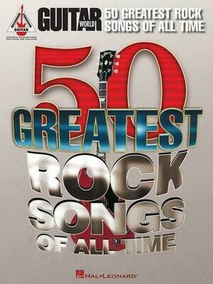 Guitar World's 50 Greatest Rock Songs of All Time - HL 00691143