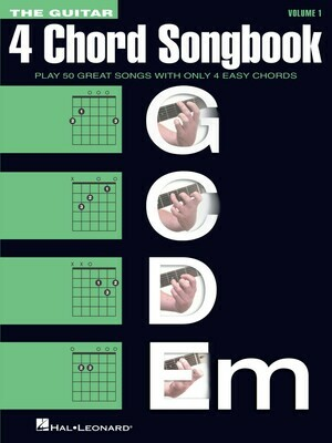 The Guitar 4-Chord Songbook G-C-D-Em - HL 00137262